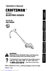 CRAFTSMAN 358.796500 Operator's Manual