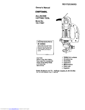 CRAFTSMAN 183.172521 Owner's Manual