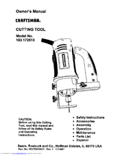 CRAFTSMAN 183.172510 Owner's Manual