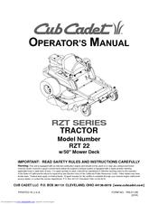 cub cadet rzt 22 operator\u0027s manual pdf downloadCub Cadet Zero Turn Rzt 22 Wiring Diagram #11