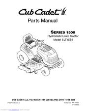 cub cadet slt1554 manuals rh manualslib com cub cadet super lt 1554 parts manual Spindle Cub Cadet SLT1554