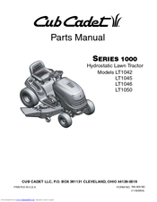 cub cadet lt1042 manuals rh manualslib com LT1042 Tires cub cadet lt1042 service manual download
