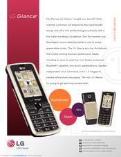 lg vx7100 manuals rh manualslib com Verizon LG Glance User Manual LG Glance