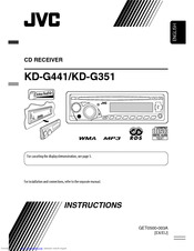 магнитола Jvc Kd-g441 инструкция - фото 3