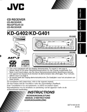 jvc car radio instructions