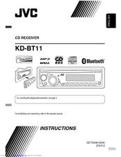 jvc kd bt11 radio cd manuals rh manualslib com JVC GR Camcorder User Manual JVC User Manual