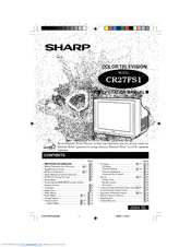 Sharp CR27FS1 Operation Manual
