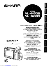Sharp ViewCam VL-H450S Operation Manual