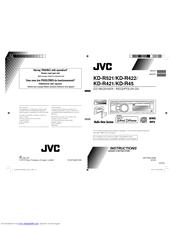 инструкция Jvc Kd R422 - фото 2