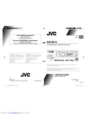 Jvc kd hdr60 user manual