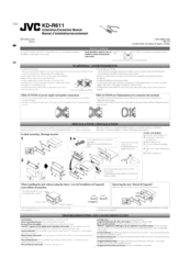JVC KD-R611 Installation/connections  sc 1 st  ManualsLib : jvc kd r610 wiring diagram - yogabreezes.com