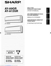sharp ay a9gr manuals rh manualslib com