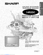 Sharp 14R2DC Operation Manual
