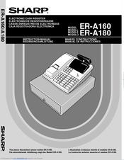 Sharp ER-A180 Instruction Manual