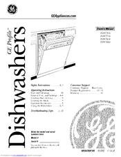 ge triton xl pdw7880 series manuals rh manualslib com GE Triton XL Dishwasher Dispenser GE Triton XL Dishwasher Dispenser