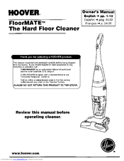 hoover floormate h3000 900 manuals rh manualslib com hoover floormate h3000 manual Hoover H3060 FloorMate SpinScrub 801