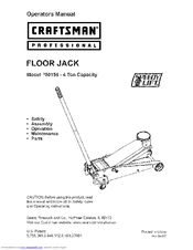 CRAFTSMAN 950156 Operators Operator's Manual