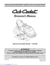 Cub Cadet 14AK13BK056 Operator's Manual