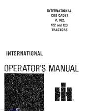 cub cadet ltx 1040 owners manual