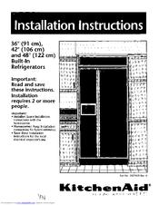 Kitchenaid Ksss42mbx01 Manuals