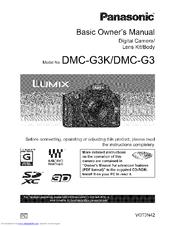 panasonic lumix dmc g3 manuals rh manualslib com dmc gf3 manual dmc-g3 manual pdf