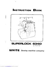 white superlock 634de manuals rh manualslib com white super lock electronic 1934d serger manual white superlock 523 serger manual