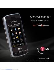 lg vx10000 black quick start manual pdf download rh manualslib com LG Voyager Charger Walmart LG Voyager Charger Walmart