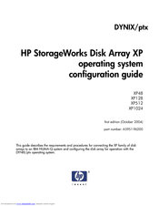 HP StorageWorks XP1024 Configuration Manual