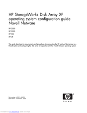 HP StorageWorks XP1024 System Configuration Manual