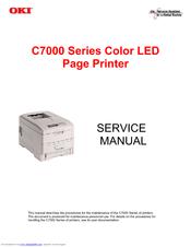 OKI C7200 SERVICE MANUAL Pdf Download