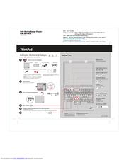 Lenovo THINKPAD G40 Guia De Configuração