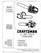 craftsman 358 350870 manuals rh manualslib com craftsman electric chainsaw owners manual Craftsman Chainsaw Parts Manual