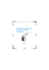 nokia hf 6w bluetooth hands free car manuals rh manualslib com Droid X Manual iPhone 3G Manual