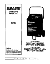 Big Data Diagram on wiring diagram for sears battery charger