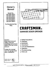 Craftsman 139 53674srt2 Manuals