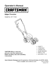 CRAFTSMAN 247.77246 Operator's Manual
