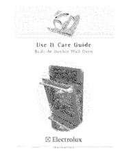 Electrolux E30EW85EPS1 Use & Care Manual