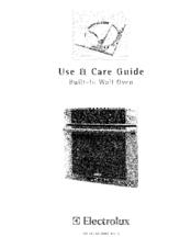 Electrolux EW30EW55GW5 Use & Care Manual