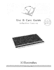 Electrolux E30IC75FSS1 Use & Care Manual