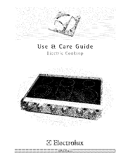 Electrolux E36EC75HSS2 Use & Care Manual