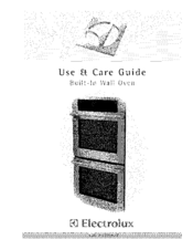 Electrolux E30EW85GSS5 Use & Care Manual