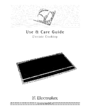 Electrolux EW30EC55GS1 Use & Care Manual