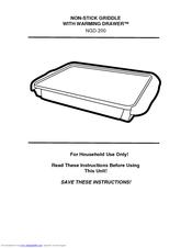 nostalgia ice cream maker instructions