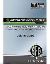 NVIDIA NFORCE 680I LT SLI USER MANUAL Pdf Download