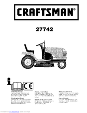 CRAFTSMAN 27742 Instruction Manual