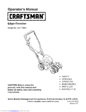 CRAFTSMAN 247.79651 Operator's Manual