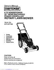 Craftsman Eager 1 Manuals Manualslib