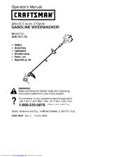 craftsman manuals weed wacker