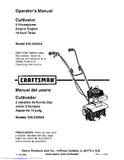 craftsman 536 292524 operator s manual pdf download rh manualslib com Craftsman Cultivator Fuel Lines Craftsman Cultivator Fuel Lines
