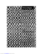 Fisher & Paykel E522BRE-21768A User Manual